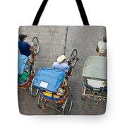 Rickshaw Driver - Bangkok Tote Bag