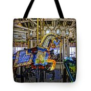 Ride A Painted Pony - Coney Island 2013 - Brooklyn - New York Tote Bag