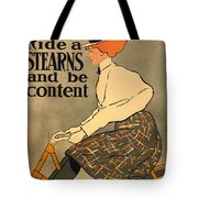 Ride A Stearns And Be Content Tote Bag