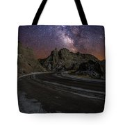 Ride Across The Badlands Tote Bag