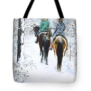 Ride Into Faerieland Tote Bag by Jill Westbrook