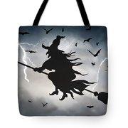 Ride Like Lighting Tote Bag