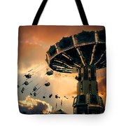 Ride The Clouds Tote Bag