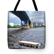 Ride The Ducks Tote Bag