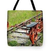 Ride The Rail Tote Bag