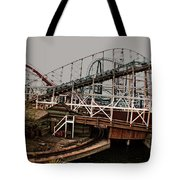 Ride The Roller Coaster Tote Bag