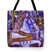 Ride The White Horse Tote Bag