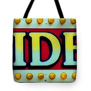 Rides Tote Bag by Skip Willits