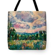 Ridge Light Tote Bag