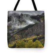 Ridges Of Fire Tote Bag