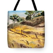 Riding By Back Road  Tote Bag