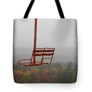 Riding Fall Colors Tote Bag