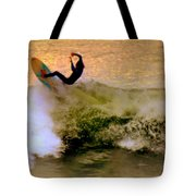 Riding High Tote Bag by Karen Wiles