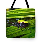 Riding Into Battle Tote Bag