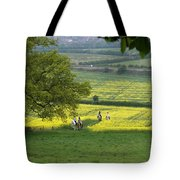Riding On Chosen Hill Tote Bag