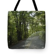 Riding The Woods Of Alabama Tote Bag