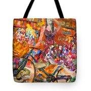 Riding Through Life Tote Bag