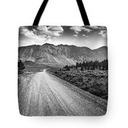 Riding To The Mountains Tote Bag