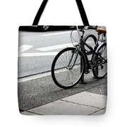 Riding Uptown Tote Bag