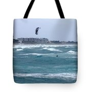 Riding Wind And Surf Tote Bag