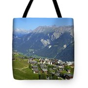 Riederalp Valais Swiss Alps Switzerland Tote Bag by Matthias Hauser