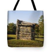 Rifle Tower Ninety Six National Historic Site Tote Bag