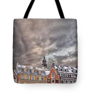 Riga Architecture Tote Bag