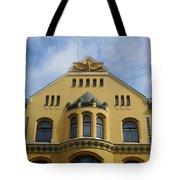 Riga Cat House Tote Bag