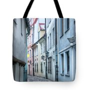 Riga Narrow Street Tote Bag