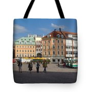 Riga Old Town 3 Tote Bag