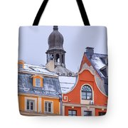 Riga Old Town Tote Bag