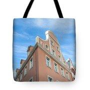 Riga Pink Building Tote Bag