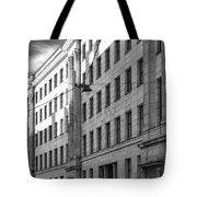 Riga Soviet Architecture 01 Tote Bag