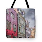 Riga Street Tote Bag