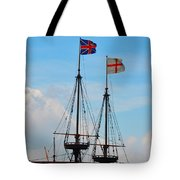 Rigging And Flags Tote Bag