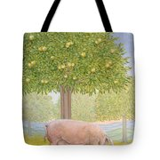 Right Hand Orchard Pig Tote Bag