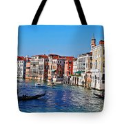 Right Of Way Tote Bag