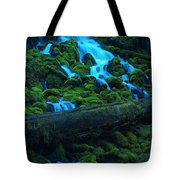Right Side Of Clearwater Falls Tote Bag