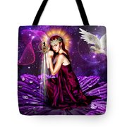 Righteous Warrior Bride Tote Bag