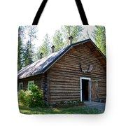 Rika's Barn In Big Delta Historical Park-ak  Tote Bag