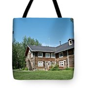 Rika's Roadhouse In Big Delta State Historical Park-ak Tote Bag