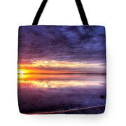 Rim Of Fire  Tote Bag