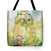 Ring And Rose Tote Bag
