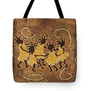Ring-around-the Rosie Tote Bag