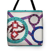 Ring Of Fire Tote Bag by Robert Margetts