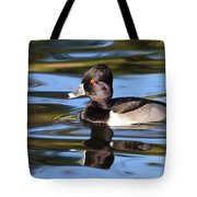 Rings Around Ring-necked Duck Tote Bag