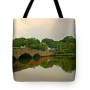 Rings End Bridge Tote Bag