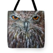Rings Of Fire, Owl Tote Bag