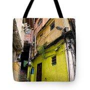 Rio De Janeiro Brazil -  Favela Housing Tote Bag
