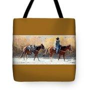 Rio Grande Cowboy Tote Bag